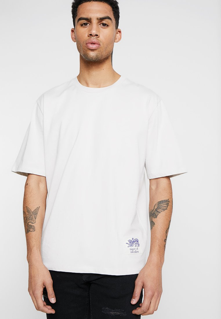Tiger of Sweden Jeans - PRO - Basic T-shirt - ivory