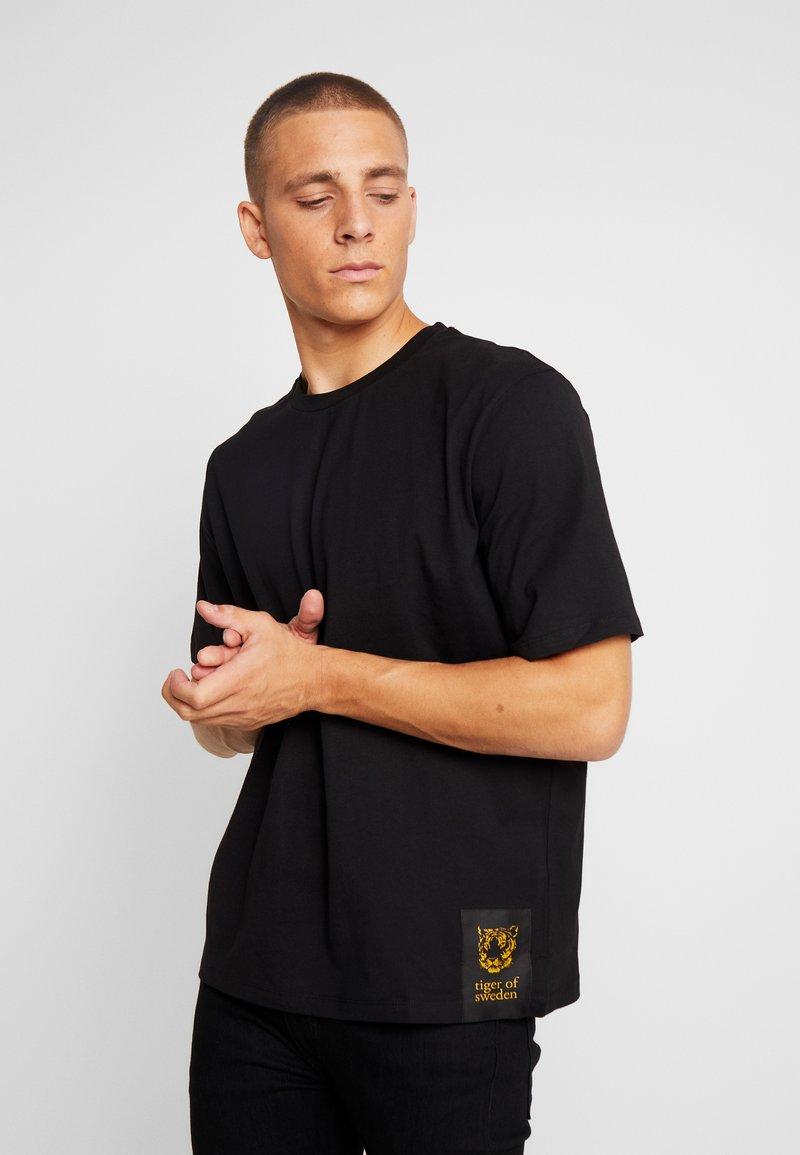 Tiger of Sweden Jeans - PRO - T-shirt - bas - black