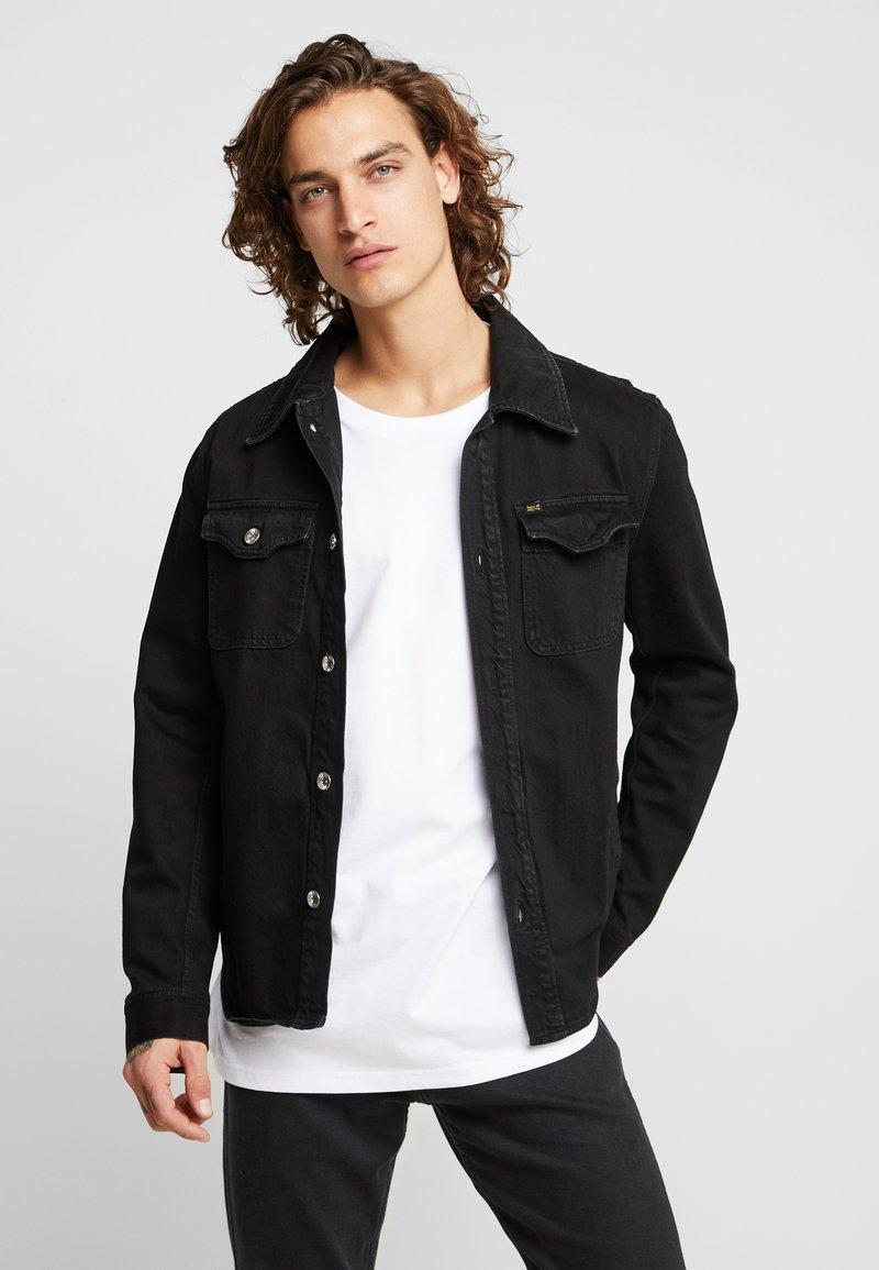 Tiger of Sweden Jeans - GET - Džínová bunda - black