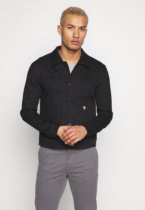 KASAR - Džínová bunda - black