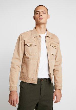 CRUST - Denim jacket - sand