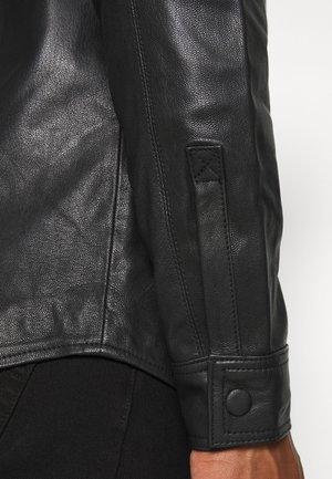 TITO - Kožená bunda - black