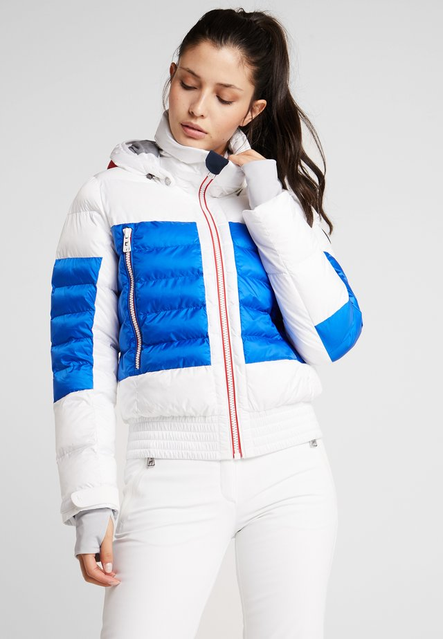 MURIEL - Ski jacket - white/red/blue