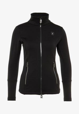 ROSA - Fleecová bunda - black