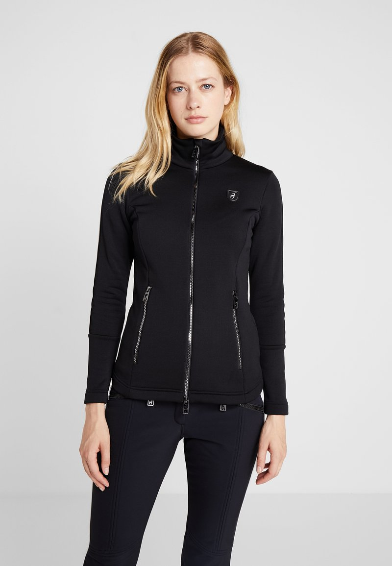 Toni Sailer - ROSA - Fleece jacket - black
