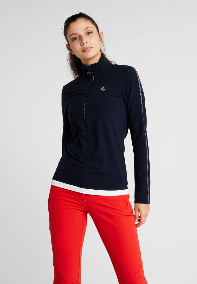 SAMANTHA - Long sleeved top - midnight
