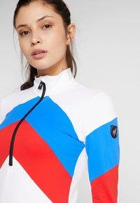 Toni Sailer - ROSALIE - Fleecepullover - white/red/blue - 3