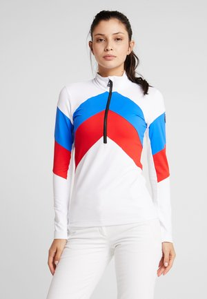 ROSALIE - Fleecepullover - white/red/blue