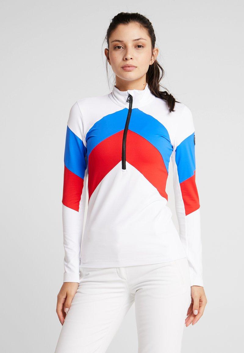 Toni Sailer - ROSALIE - Fleecepullover - white/red/blue
