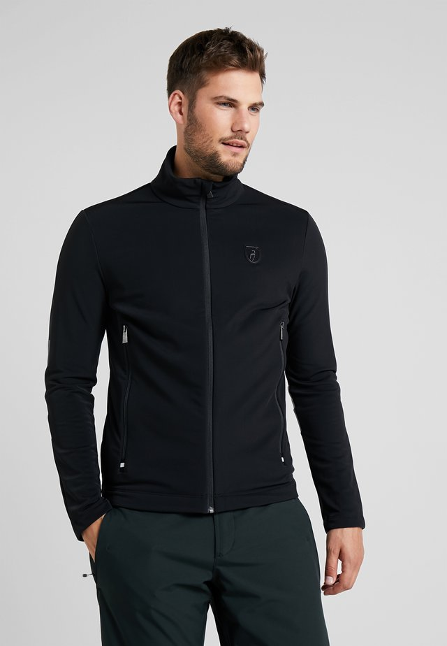 LAURENZ - Fleece jacket - black
