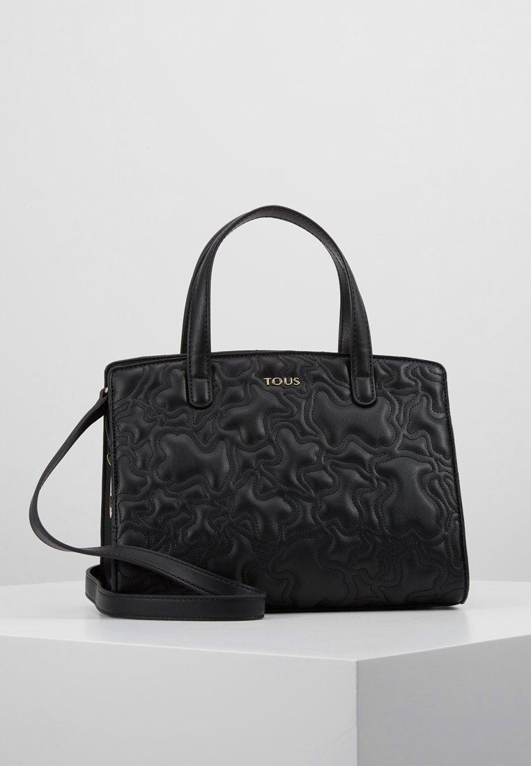 Tous - KAOS CAPITONE BOWLING BAG - Handbag - black