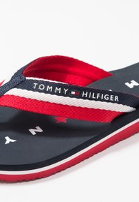 Tommy Hilfiger - LOVES BEACH - Sandaler m/ tåsplit - blue - 2