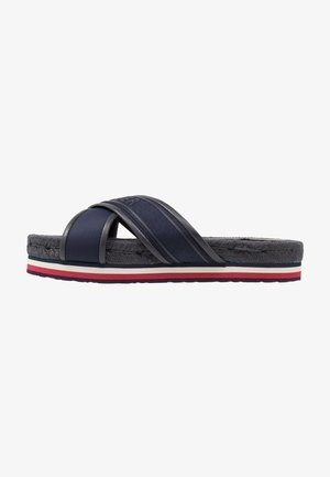 COLORFUL FLAT - Sandalias planas - blue