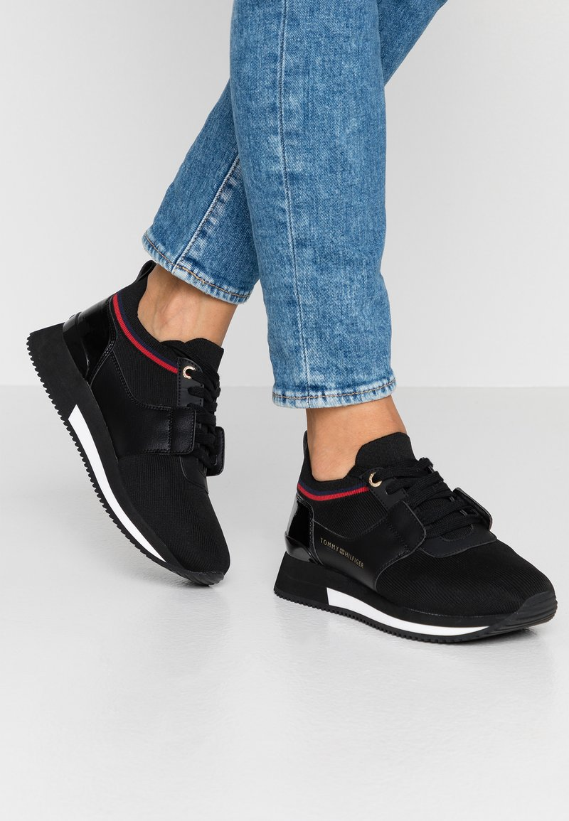 Tommy Hilfiger - SOCK ACTIVE CITY - Sneaker low - black