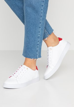 TOMMY LACE UP CASUAL  - Trainers - white