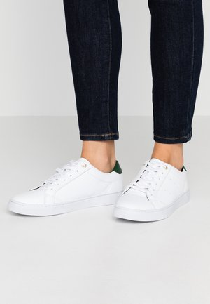 TOMMY LACE UP CASUAL  - Baskets basses - white