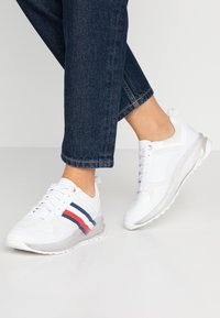 Tommy Hilfiger - TOMMY CORPORATE SPORTY  - Trainers - white - 0