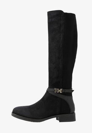 TH HARDWARE MIX LONGBOOT - Bottes - black