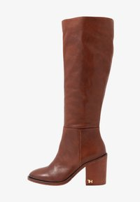 Tommy Hilfiger - MONO COLOR LONGBOOT - High heeled boots - brown - 1