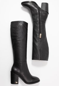 Tommy Hilfiger - MONO COLOR LONGBOOT - High heeled boots - black - 3