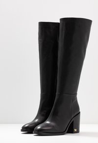Tommy Hilfiger - MONO COLOR LONGBOOT - High heeled boots - black - 4