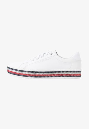 TOMMY JEWELED SNEAKER - Joggesko - white