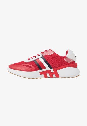 TOMMY SPORTY BRANDED RUNNER - Trainers - primary red