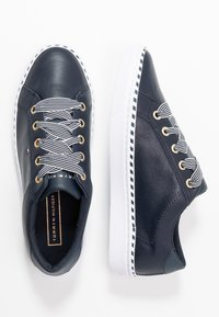 Tommy Hilfiger - NAUTICAL LACE UP SNEAKER - Baskets basses - desert sky - 3