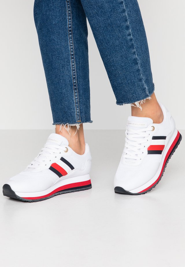 14C - Sneakers laag - white