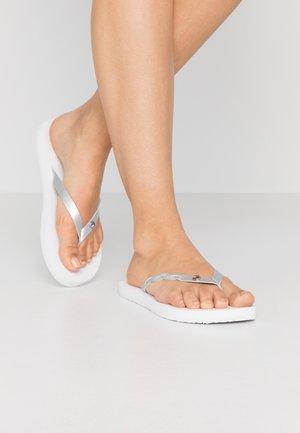MYRA  - Sandalias de dedo - white