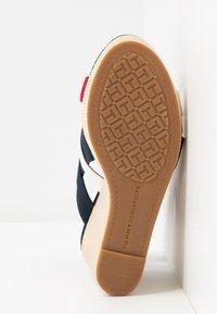 Tommy Hilfiger - ELENA - High Heel Sandalette - red/white/blue - 6