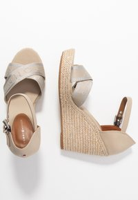 Tommy Hilfiger - ELENA  - High heeled sandals - stone - 3