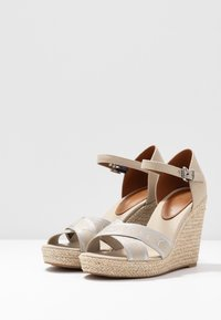 Tommy Hilfiger - ELENA  - High heeled sandals - stone