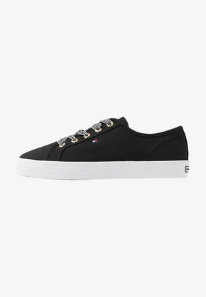 ESSENTIAL NAUTICAL SNEAKER - Trainers - black