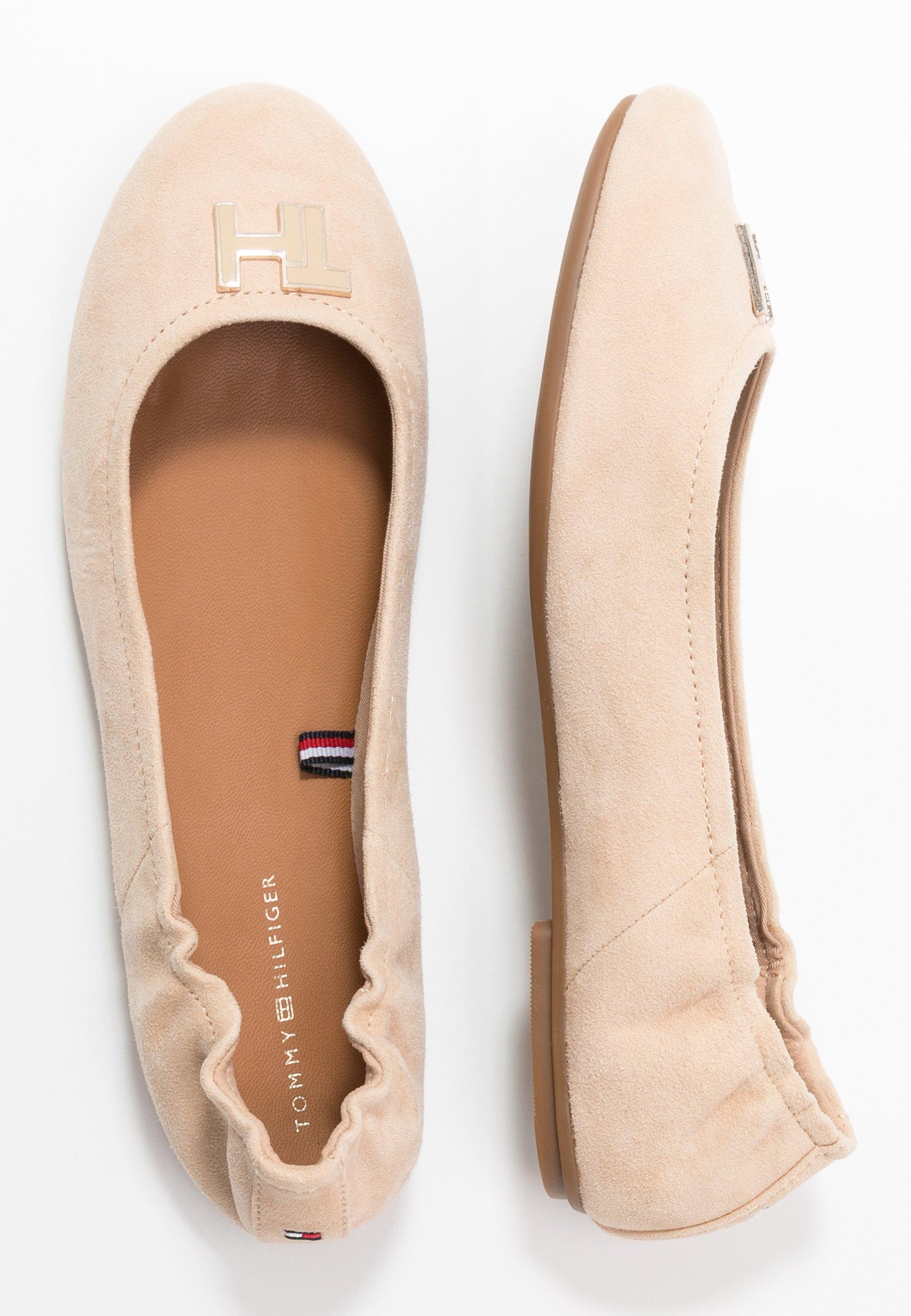 Tommy Hilfiger KATY - Ballerinasko - clayed pebble