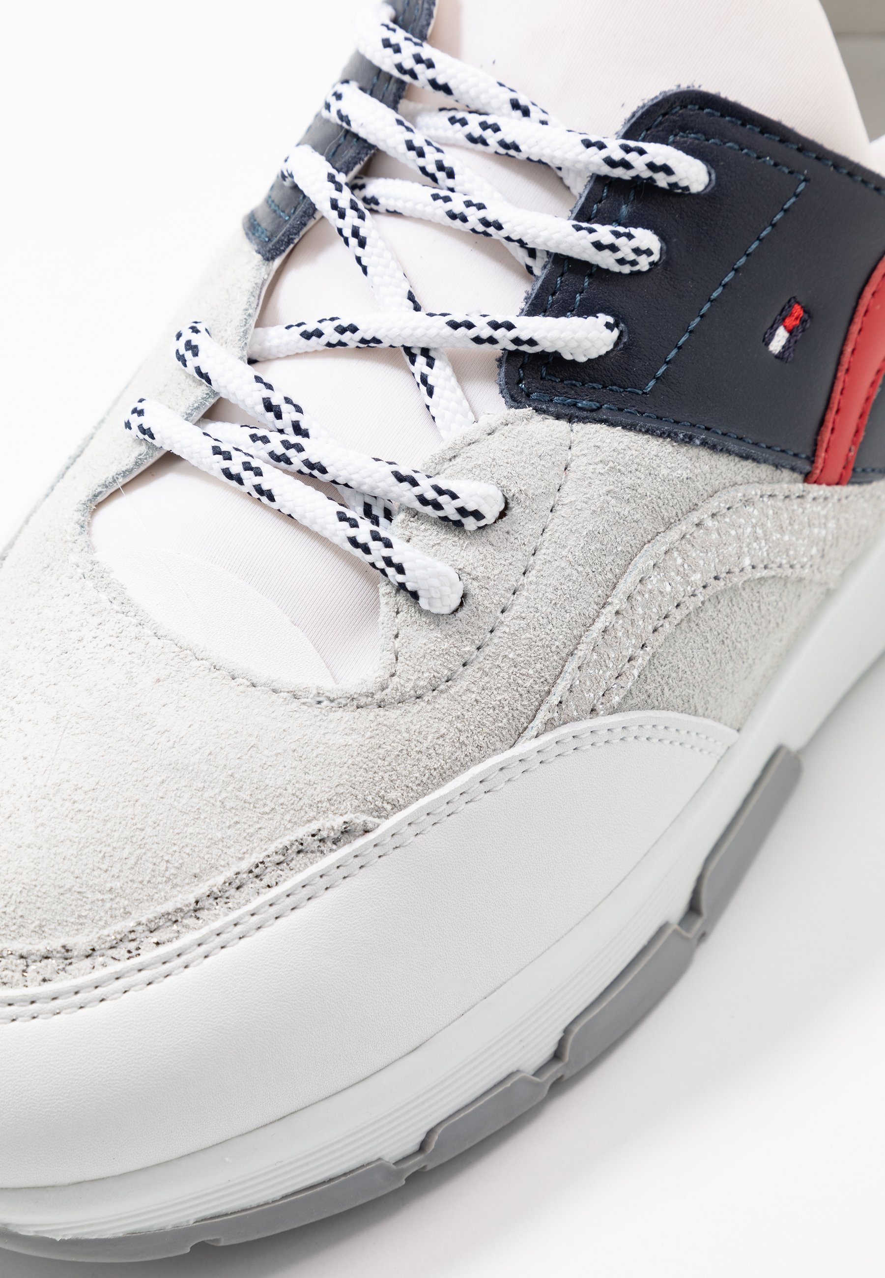 Tommy Hilfiger SPORTY CHUNKY GLITTER SNEAKER - Baskets basses - red/white/blue