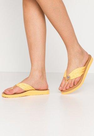 TH MONO FLAT BEACH SANDAL  - T-bar sandals - sunny