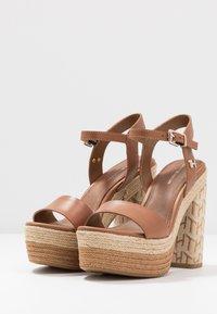 Tommy Hilfiger - AALIYAH  - High heeled sandals - summer cognac - 4