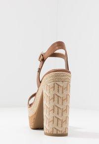 Tommy Hilfiger - AALIYAH  - High heeled sandals - summer cognac - 5