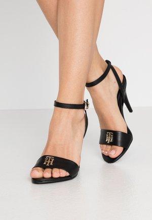 HARDWARE  - High heeled sandals - black