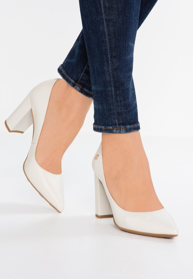 Tommy Hilfiger - DRESSY - High heels - white