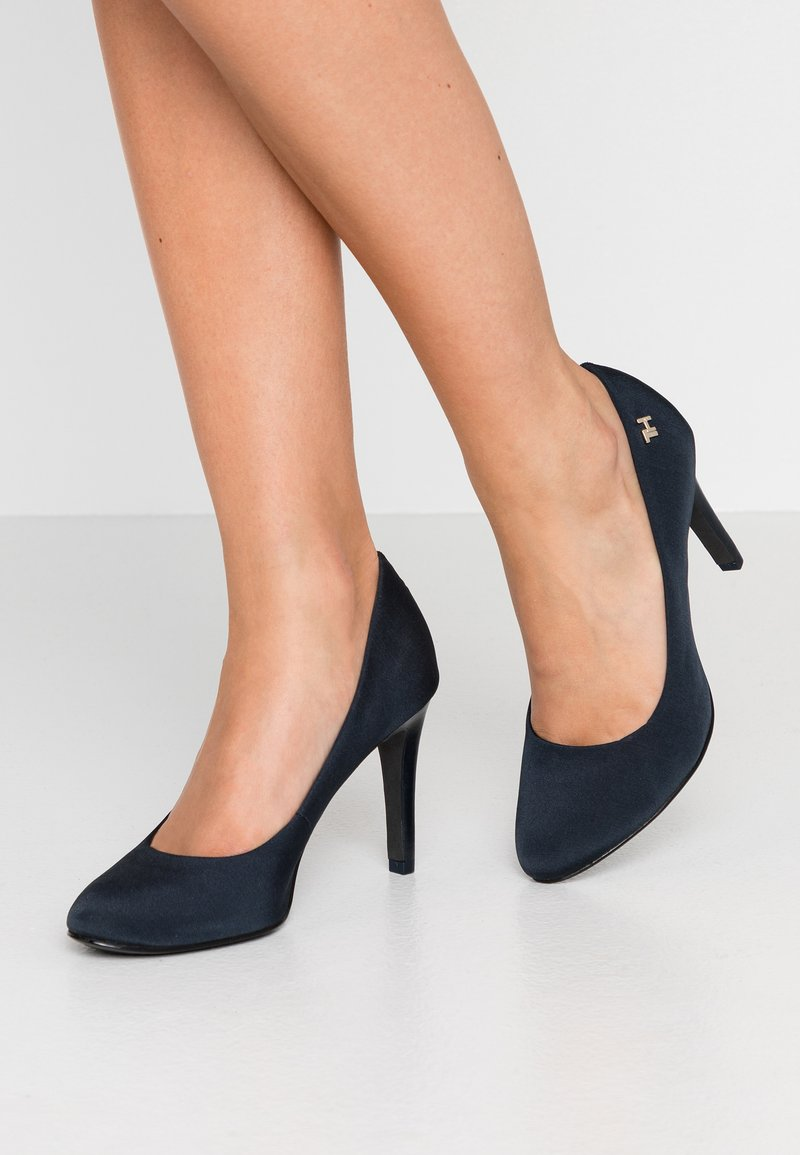 Tommy Hilfiger - ESSENTIAL TEXTILE - High Heel Pumps - blue