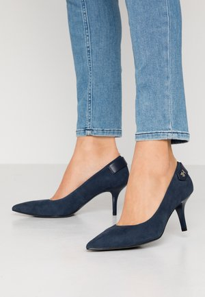 ELEVATED TH HARDWARE PUMP - Classic heels - sport navy