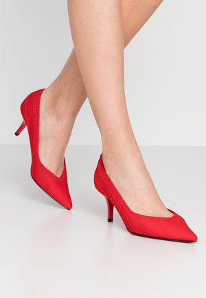 MID HEEL - Klassiske pumps - primary red
