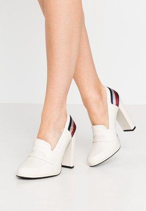 STRAP - High heels - ivory