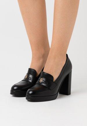 POLISHED - Lodičky na vysokém podpatku - black