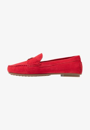 TH HARDWARE MOCASSIN - Mocasines - primary red