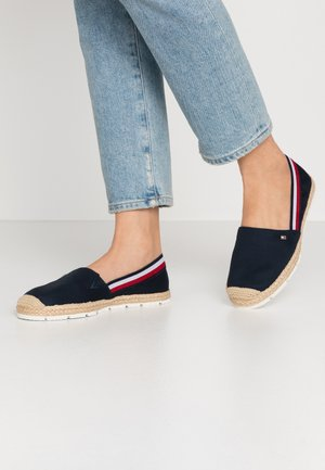 BASIC TOMMY CORPORATE ESPADRILLE - Espadrilles - desert sky