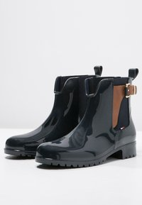 Tommy Hilfiger - OXLEY - Wellies - midnight/winter cognac - 3