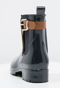 Tommy Hilfiger - OXLEY - Wellies - midnight/winter cognac - 4